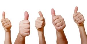 Testimonials Thumb Up